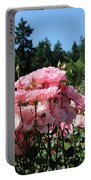 Portland's Pink Roses Portable Battery Charger