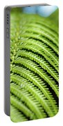 Portrait Of A Fern Portable Battery Charger