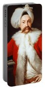 Portrait Of A Gentleman In Oriental Costume Portable Battery Charger