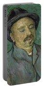 Portrait Of A One Eyed Man Saint Remy De Provence  Autumn 1889 Vincent Van Gogh 1853  1890 Portable Battery Charger