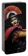 Portrait Of A Roman Legionary - 11 Portable Battery Charger