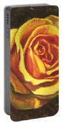Portrait Of A Rose 5 Portable Battery Charger