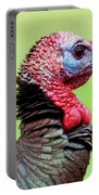 Portrait Of A Tom Turkey Portable Battery Charger