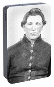 Portrait Of A Young  Civil War Soldier 4 Portable Battery Charger