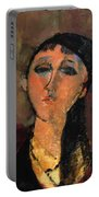 Portrait Of A Young Girl Louise 1915 Portable Battery Charger