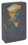 Portrait Of A Young  Wwi Soldier Series 10 Portable Battery Charger