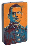 Portrait Of A Young  Wwi Soldier Series 12 Portable Battery Charger