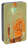 Portrait Of A Young  Wwi Soldier Series 14 Portable Battery Charger