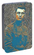 Portrait Of A Young  Wwi Soldier Series 16 Portable Battery Charger