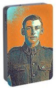 Portrait Of A Young  Wwi Soldier Series 6 Portable Battery Charger