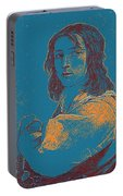 Portrait Of A Youth 50 By Adam Asar -  Asar Studios Portable Battery Charger