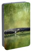Portrait Of Alligator Portable Battery Charger