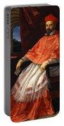Portrait Of Cardinal Roberto Ubaldini 1625 Portable Battery Charger