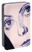 Portrait Of Catherine Close Up Details Portable Battery Charger