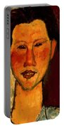 Portrait Of Chaim Soutine 1915 Portable Battery Charger