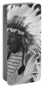Portrait Of Chief Red Cloud Portable Battery Charger