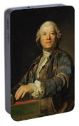 Portrait Of Christoph Willibald Ritter Von Gluck Portable Battery Charger