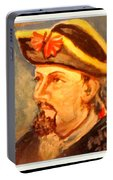Portrait Of Conrad As British Soldier Portable Battery Charger