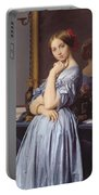 Portrait Of Countess D Haussonville Portable Battery Charger