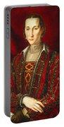 Portrait Of Eleanora Di Toledo Portable Battery Charger
