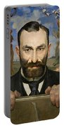Portrait Of Feliks Jasienski Portable Battery Charger