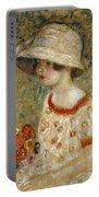 Portrait Of Frances Kilmer Portable Battery Charger