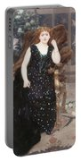 Portrait Of Jane Hading , Alfred Roll Portable Battery Charger