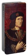 Portrait Of King Richard IIi Portable Battery Charger