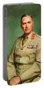 Portrait Of Lieutenant - General The Honorable Sir Edmund Herring Portable Battery Charger