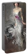 Portrait Of Madame Eugene Doyen Portable Battery Charger