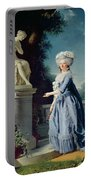 Portrait Of Marie-louise Victoire De France Portable Battery Charger