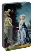 Portrait Of Marie-louise Victoire De France Portable Battery Charger