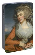 Portrait Of Mary Livius Portable Battery Charger