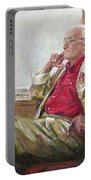 Portrait Of May Dancig Portable Battery Charger