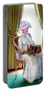 Portrait Of Prudence Portable Battery Charger