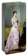 Portrait Of Rose Caron Portable Battery Charger