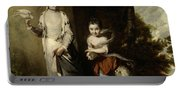 Portrait Of The Ladies Amabel And Mary Jemima Yorke Portable Battery Charger