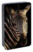 Portrait Of Zebra Portable Battery Charger