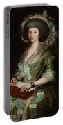 Portrait Senior Sean Bermudes Portrait Of Maria De Borbon Luisy Portable Battery Charger