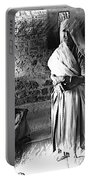 Portrait Sisters Village Elders Seniors Indian Rajasthani Bnw 2a Portable Battery Charger