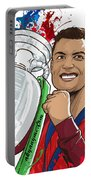 Portugal Campeoes Da Europa Portable Battery Charger