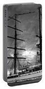 Portuguese Tall Ship Portable Battery Charger