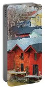 Porvoo Town Portable Battery Charger