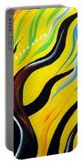 Positive Energy. Abstract Art Portable Battery Charger