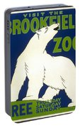 Poster For The Brookfield Zoo Portable Battery Charger