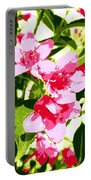 Poster Pink Portable Battery Charger