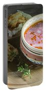 Pot Of Ukrainian Borsch Portable Battery Charger