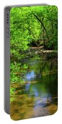 Potamac River In Maryland Portable Battery Charger