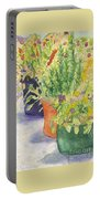 Potted Beauties  Portable Battery Charger