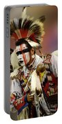 Pow Wow Chicken Dancer 1 Portable Battery Charger